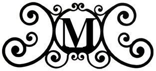 House Plaque Letter M by Village Wrought Iron. $29.02. House Plaque Letter MMeasures approx 24 In. W x 11 In. H***This item is expected to deliver in 3-8 business days. Tracking information is usually sent within 3-5 business days from the date of the purchase. This item does not ship to Alaska or Hawaii. The item also does not ship to P.O. boxes or APOs.***
