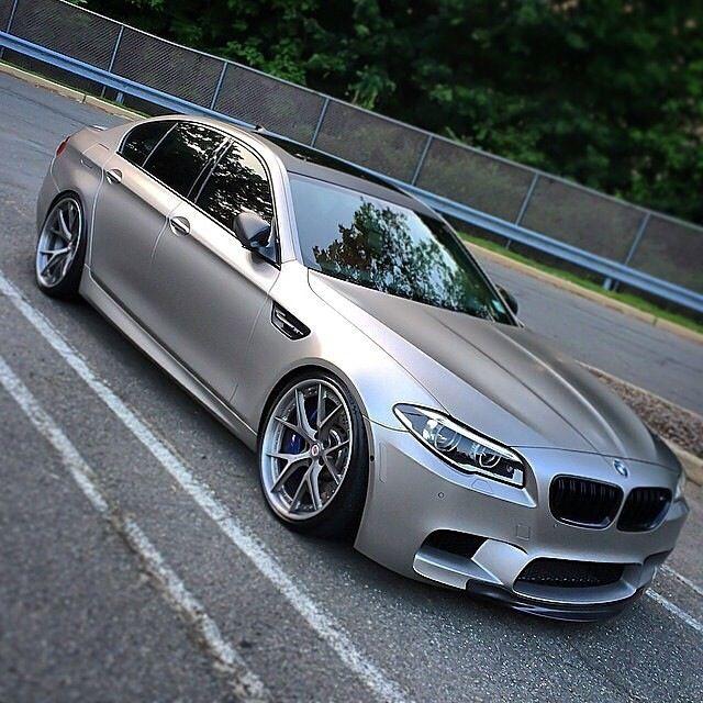 BMW M5 Matte Silver
