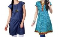 Women fashion kurta starting from Rs 499. Valid at all super markets in Surat, Chennai and Ahmedabad.