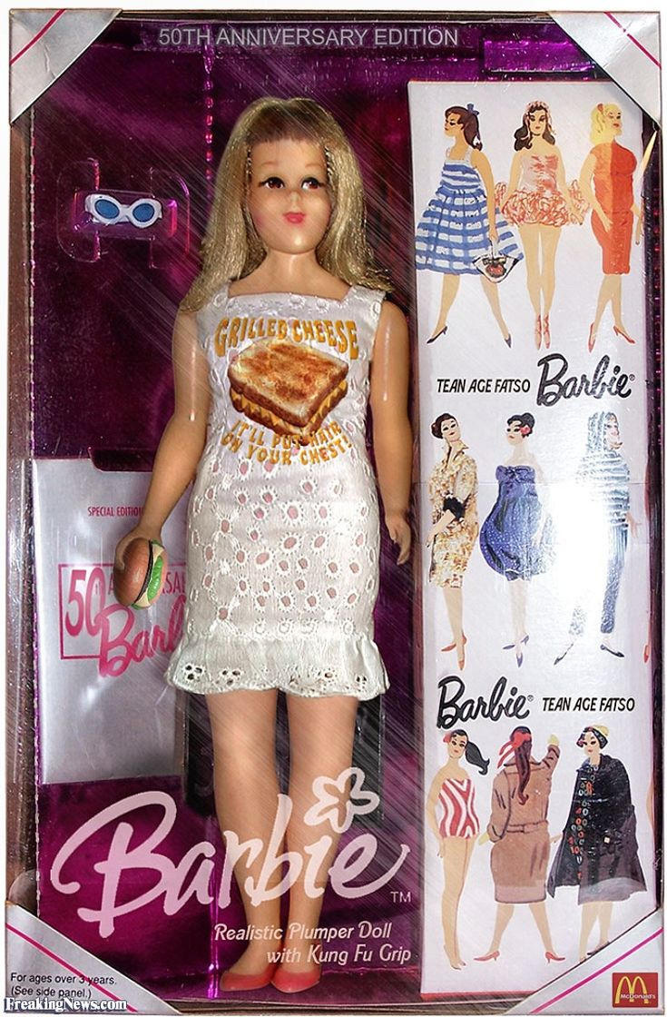 Fat Barbie Doll - found while working on a project about ...