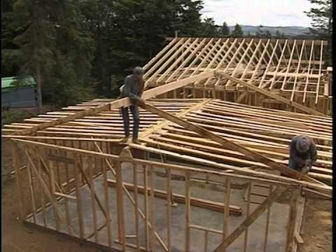 64 best roof framing images on Pinterest | Building plans, Cabana ...