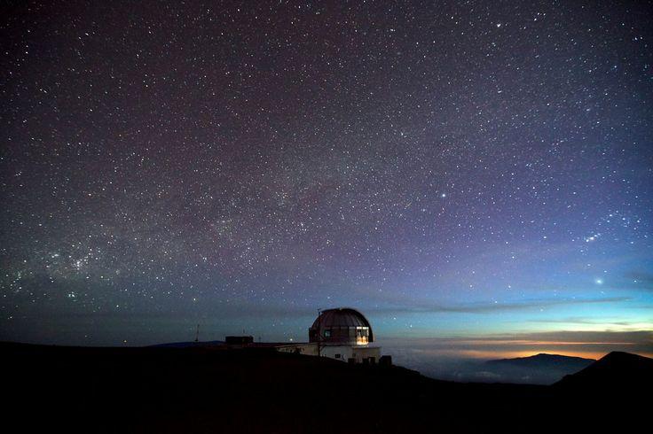 Yes, we have an observatory on Mauna Kea !