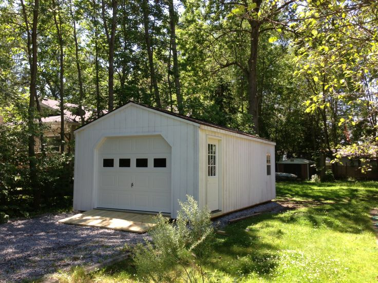 14' X 30' Wooden Portable Garage Delivered Fully