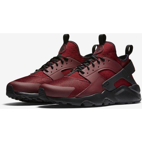 Nike Air Huarache Ultra Men's Shoe. Nike.com ($120) ❤ liked on Polyvore featuring men's fashion, men's shoes, nike mens shoes and mens shoes