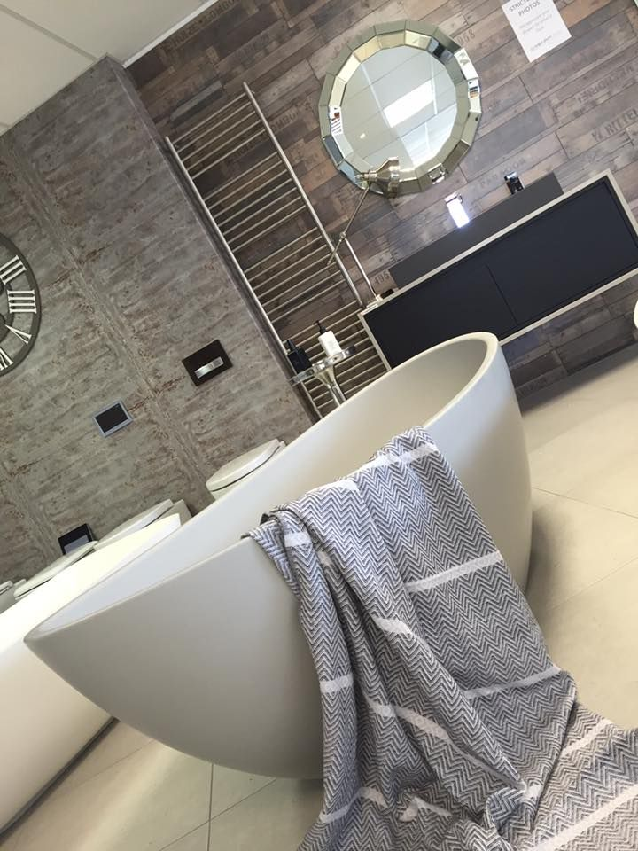 Grey Perlato Bath | Livingstone Baths