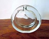 Vintage Yellow and Teal Green Glass Bowl Vase:  Bertil Valllien, Swedish Art Glass. $98.00, via Etsy.: Swedish Art, Teal Swedish, Bowls Vase, Bertil Valllien, Green Glasses, Vintage Yellow, Teal Green, Glasses Bowls, Art Glasses