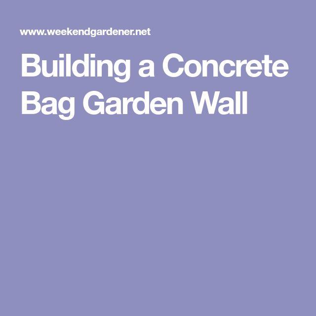 Best 25 Concrete Bags Ideas On Pinterest Cement Bag Of