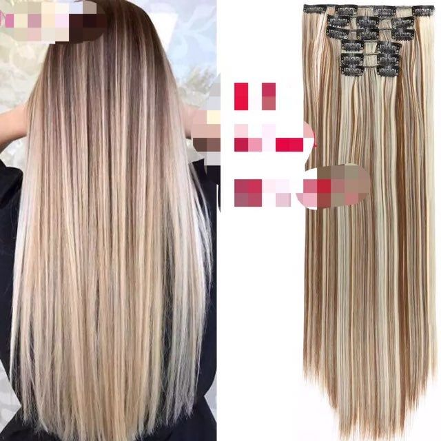 The Price Is Firm It S Made In Japan No Brand Human Hair Blend Heat Resistant Synthetic This Is The Brown Blonde Hair Color Blonde Color Long Hair Styles