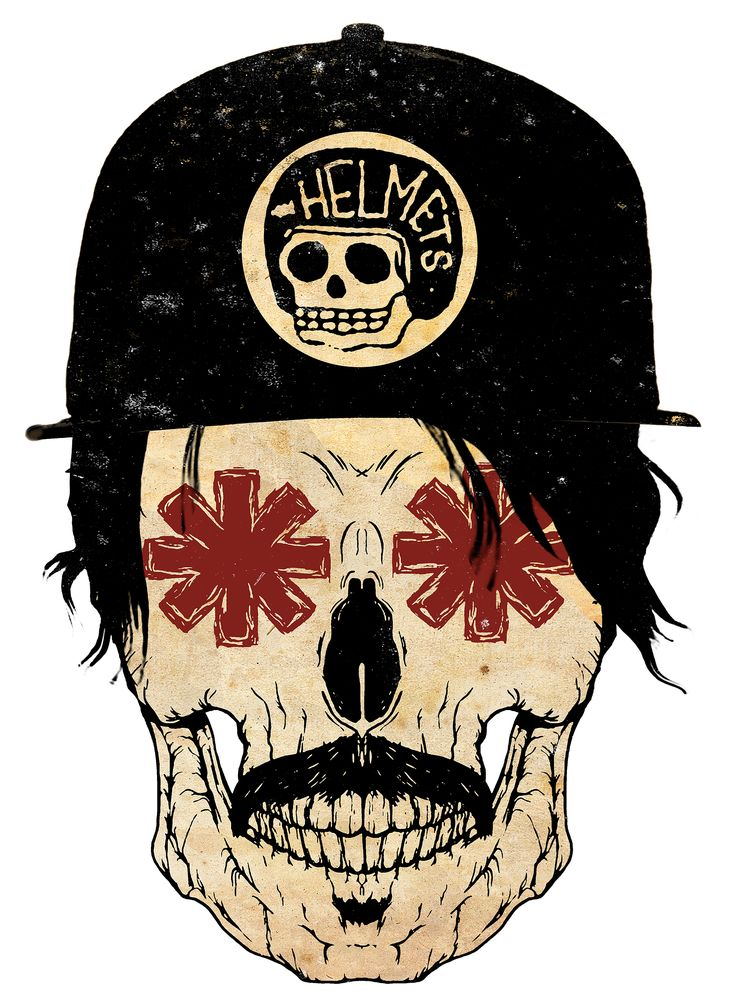 Estampas Red Hot Chili Peppers tour 18 By Studio Rise