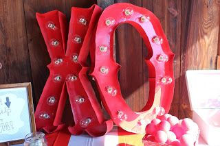 Lola, Tangled: How to Make DIY Light-Up Marquee Letters for a Circus or Carnival Wedding