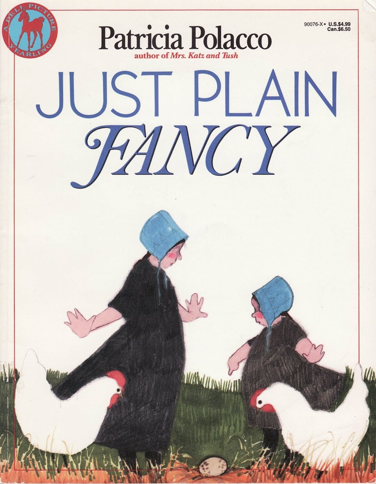Just plain fancyprobably one of my favorite books to