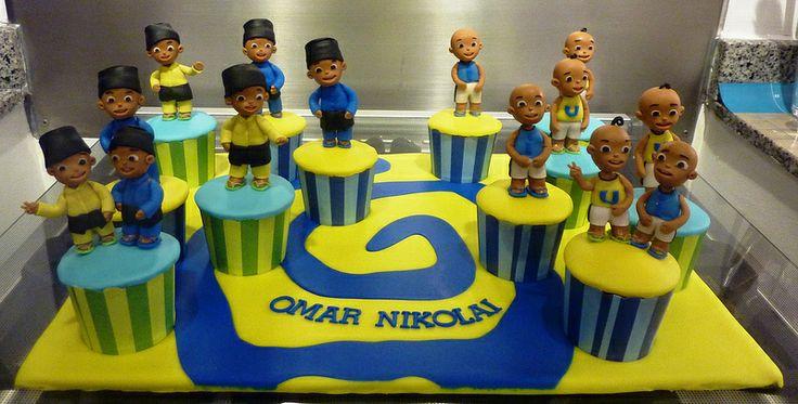 Upin & Ipin Cupcakes
