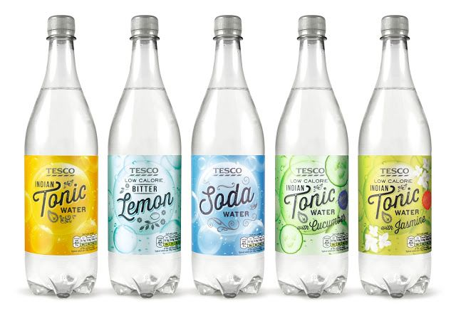 Tesco Mixers Range on Packaging of the World - Creative Package Design Gallery