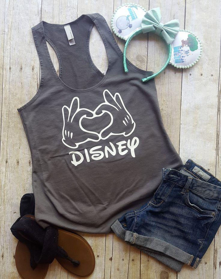 Mickey Love Hands - Disney shirt - Disney shirts for women - Mickey shirt - Disney family shirts