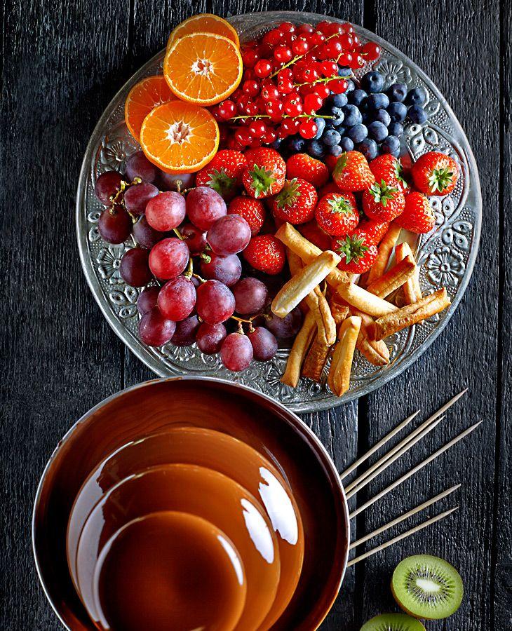 Fontanna czekoladowa (fondue) #lidl #przepis #fontanna #czekoladowa #fondue #sylwester