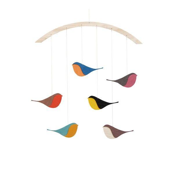 SONGBIRDS MOBILE: Songbird Mobiles, Snug Studios, Baby Mobiles, Kids Stuff, Birds Mobiles, Snug Songbird, Songbird Wooden, Wooden Birds, Songbird Mobilé
