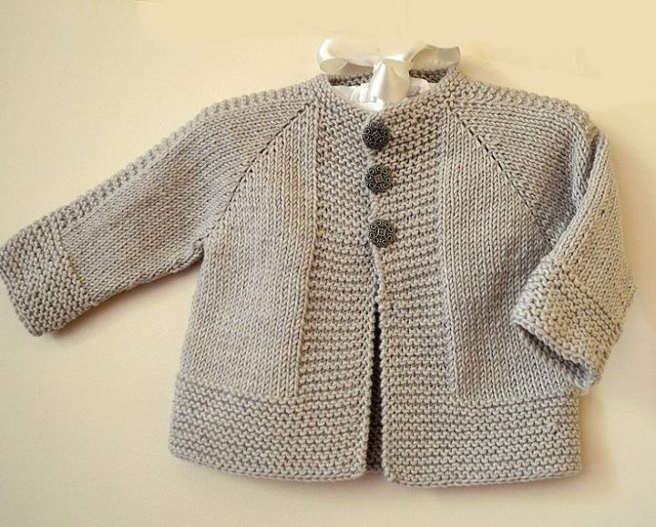 Simple and stylish quick knit top down - P113 | Baby ...
