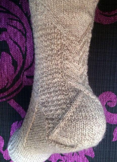 Ravelry: Wheatsheaf Socks pattern by Jennifer Pattison