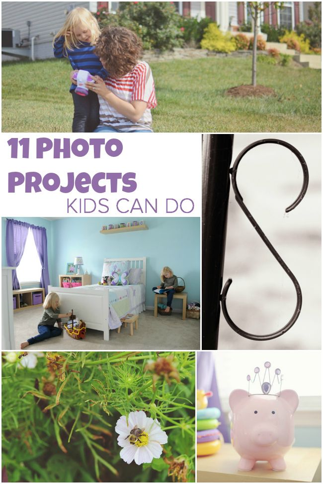 Tutorial / 11 photography projects kids can do