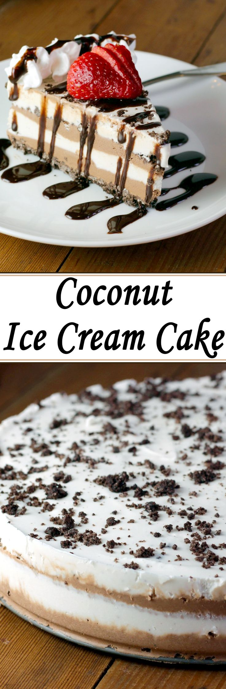 Not only is this ice cream cake super easy to make, but it looks really impressive, and everyone absolutely loves it!