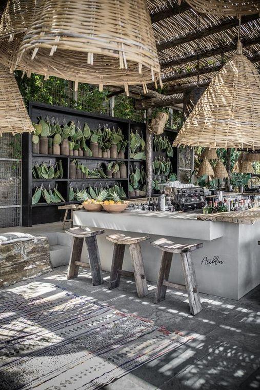 Spektakuläre Ideen für die Gestaltung der Inneneinrichtung des Strandrestaurants 7