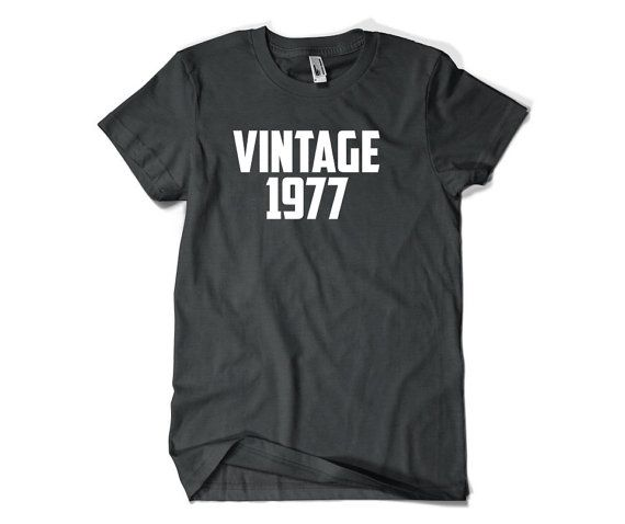 39th Birthday Gift-Vintage 1977-39th Birthday by SuperCoolTShirts
