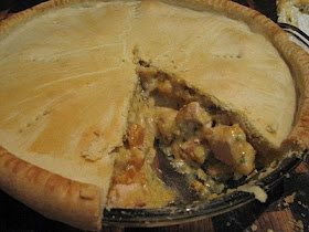 REAL MEALS: Chicken and Leek Pie (with Cheat's White Sauce)