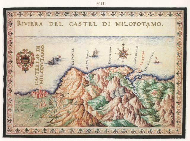 Η ακτή του κάστρου του Μυλοποτάμου. .... Francesco Basilicata..για την Κρήτη...1618 - 1638.