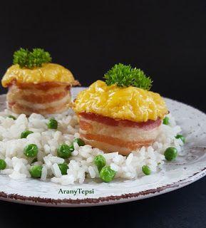 AranyTepsi: Csirkés baconkosárkák