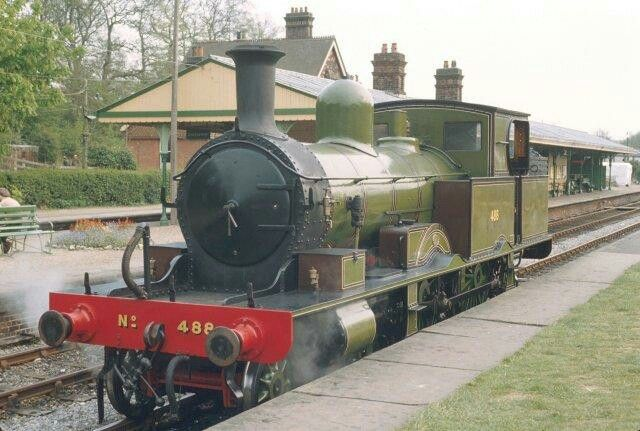 BR (Southern) (LSWR)  Adams 415 class  4-4-2T