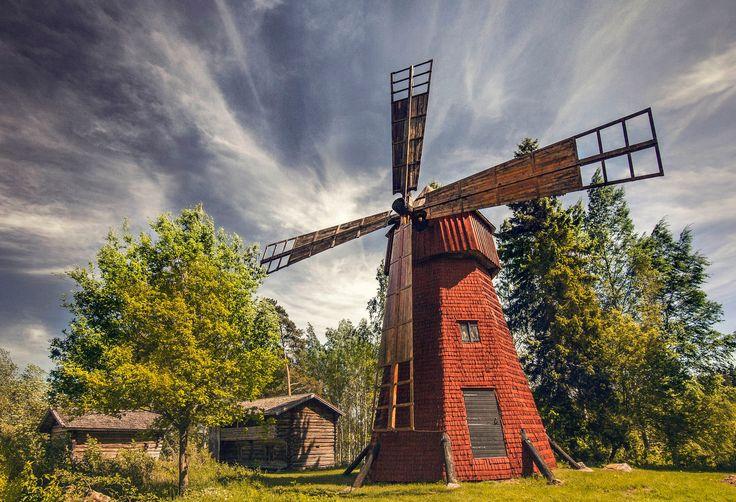 Kreivinmäki windmill - Kreivinmäki windmill.
