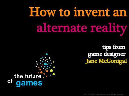 Make An Alternate Reality Game!