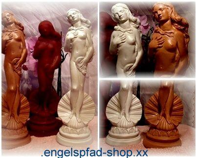 GROßE GIEßFORM - Venus in Muschel - Figur Gießformen 978