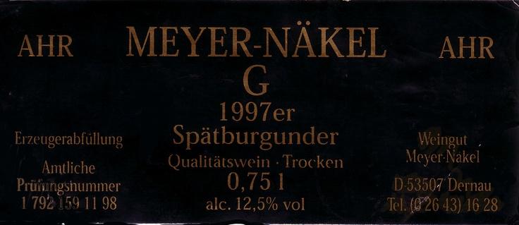 Spätburgunder Meyer-Näkel