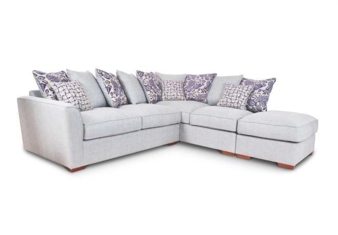 Rhf scatter back corner sofa fable sofa sets corner for F furniture village