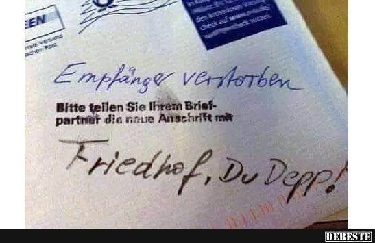 Typisch Post.. | DEBESTE.de, Lustige Bilder, Sprüche, Witze und Videos