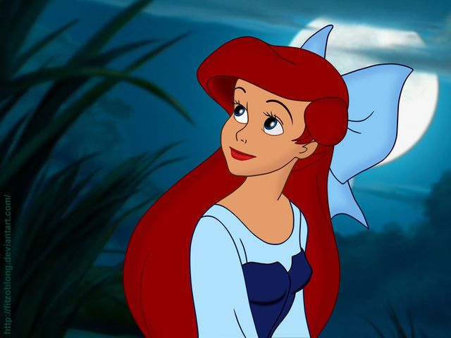 One of my favorite pictures of Ariel. How doe she pose so great?! This is such a beautiful picture