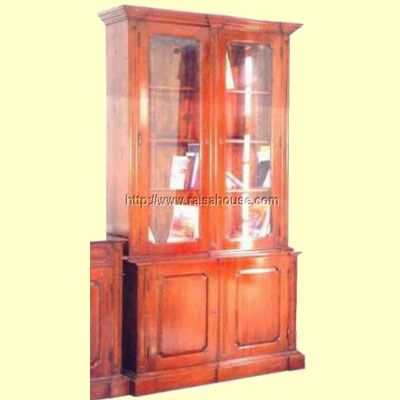 """Bibliotheque Two Door with Glass Refrence : RBC 001 GS Dimension : 134 x 47 x 236 cm Material : #WoodenMahoganyFurniture  Finishing : #Customize """"Buy this #Bookcase for your #luxuryhome, your #hotelproject, your #apartmentproject, your #officeproject or your #cafeproject with #wholesaleprice and 100% #exporter. This #Bibliotheque #TwoDoor with #Glass has a #highquality of #AntiqueFurniture."""" . #OfficeFurniture #FurnitureStyle #ClassicFurniture #JeparaFurniture #FurnitureProject"""