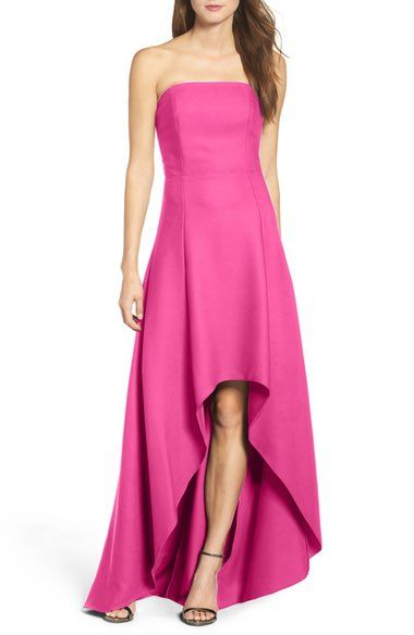 Laundry by Shelli Segal Strapless High/Low Gown available at #Nordstrom