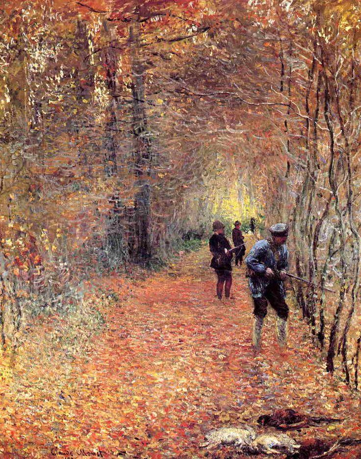 The Shoot, 1876 - Claude Monet