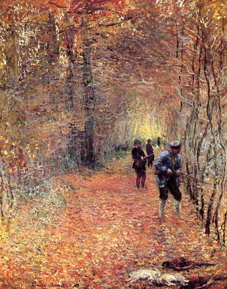 The Shoot, 1876 - Claude Monet