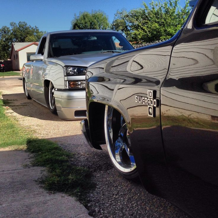 Laid out! Street trucks
