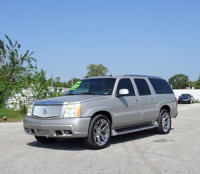 This 2004 Cadillac Escalade ESV is listed on Carsforsale.com for $5,995 in Pasadena, TX