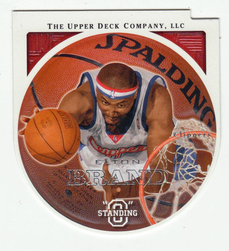 Elton Brand # 30 - 2003-04 Upper Deck Standing O Basketball Die Cuts Embossed