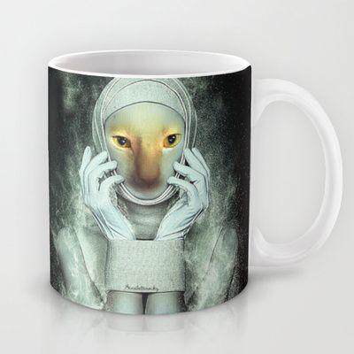 Diva Cat Mug by Annabellerockz - $15.00