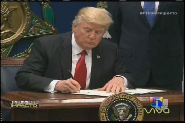 Otra Orden Ejecutiva Firmada Por Donald Trump Suspende La Entrada De Ciudadanos De 7 Países Musulmanes Y La Admisión De Miles De Refugiados