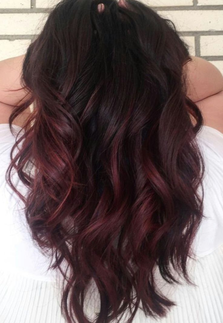 best 25 chocolate cherry hair ideas on pinterest