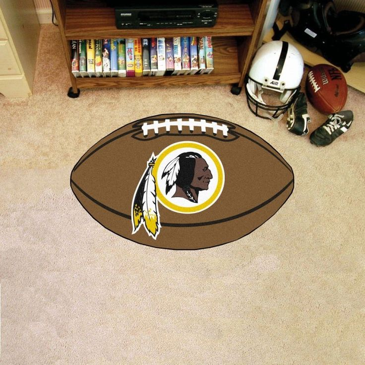 Washington Redskins Football Mat