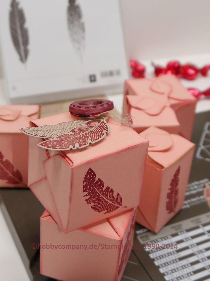 Verpackungen mit dem Stanz-und Falzbrett für Geschenkboxen