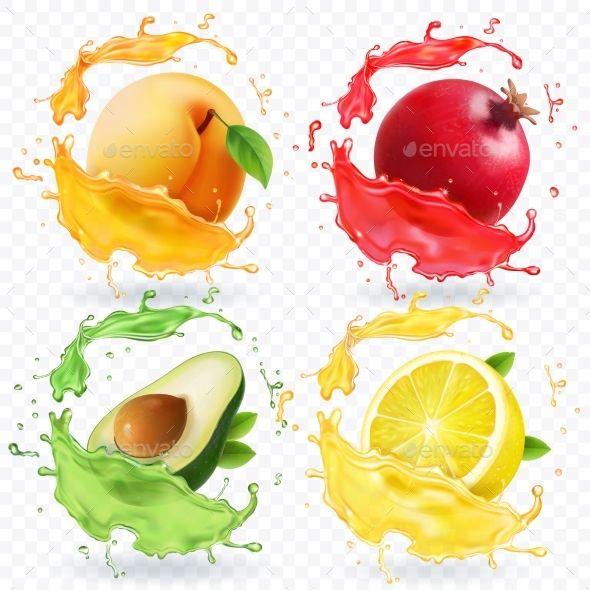 Apricot Lemon Pomegranate Avocado Juice Splash Avocado Juice Pomegranate Apples To Apples Game